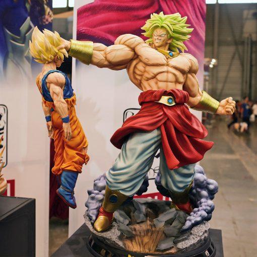 Mô hình Dragon Ball Broly vs Goku - Legendary Super Saiyan HQS TSUME