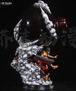 Mô hình Luffy Wano Resin Gear 4 Elephant Gunt One Piece (Bootleg)