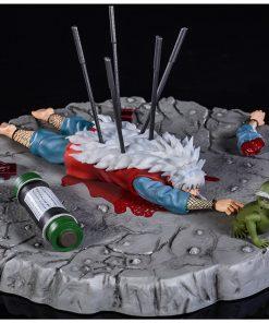 Jiraiya Death Scene - Naruto Resin