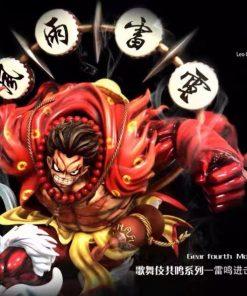 Mô hình Figure One Piece Luffy Kabuki Gear 4 Resin