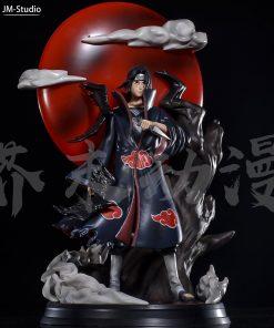 Mô hình Naruto Uchiha Itachi Red Moon Resin