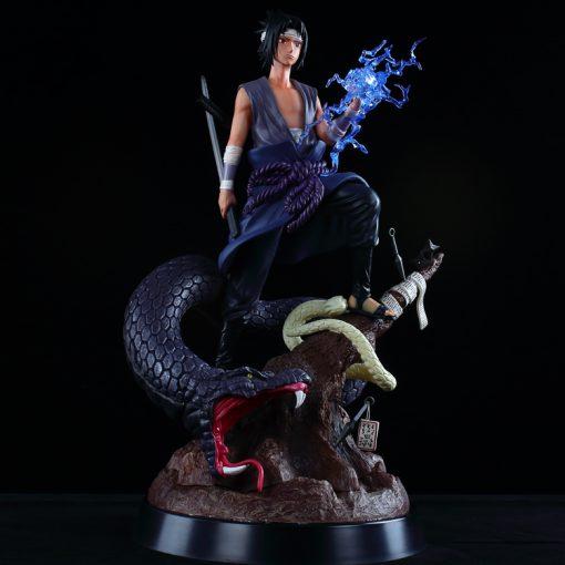 Mô hình Figure Burning Wind Uchiha Sasuke Snake Resin